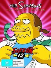 The SIMPSONS: The COMPLETE Season 12 DVD TV SERIES BRAND NEW 4-DISCS BOX SET R4