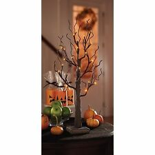 Halloween LED Tree 2' Spooky Decor Timer Included 24 inches Dorm Decor Must-Have