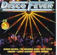 DISCO FEVER - DONNA SUMMER - GEORGE MCCREA - IKE & TINA TURNER - SABRINA CD 14T