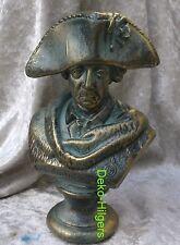 Friedrich der Große Büste Dekoration Figur Skulptur Der Alte Fritz  2032 Fa62