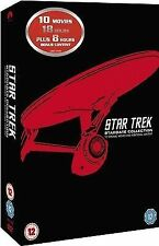 Star Trek 1 - X Remastered (DVD, 2013, 11-Disc Set, Box Set)