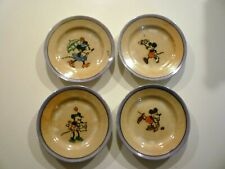 1930'S MICKEY MOUSE BY WALT DISNEY TEA SET PLATES MADE IN JAPAN