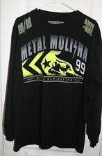 Metal Mulisha Long Sleeve Shirt Black Mens Size Large
