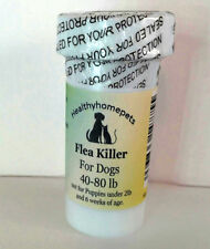 12 Capsules Instant Flea Killer Control Large Dogs 40-80lb super fast RESULTS!