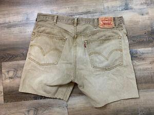 Las Mejores Ofertas En Pantalones Cortos De Mezclilla Levi S Beige Para Hombres Ebay