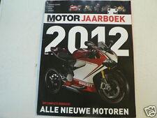 MOTOR JAARBOEK 2012 ALL MOTO MODELS DUTCH MARKET,BMW K1600GT,HONDA ST1300,CBR600