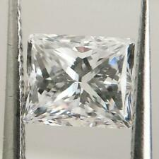 DIAMOND PRINCESS RECTANGLE D SI1 LOOSE SOLITAIRE 100% NATURAL CLARITY CERTIFIED