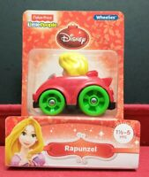 Fisher Price Little People Disney Wheelies Holiday Christmas Edition Rapunzel