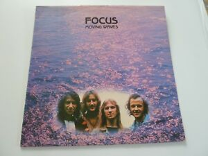 FOCUS - MOVING WAVES LP BLUE HORIZON 2931 002 ORIG 1971 UK PRESS DUTCH ROCK PROG