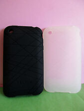 BELKIN Grip Vector Duo 2 Silicon Cases for Apple iPhone 3G 3GS F8Z472 FREE P&H