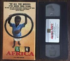 ABC AFRICA DEMO VHS - ABBAS KIAROSTAMI - 2001 Documentary - VG - 5036