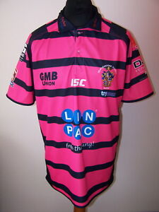 2016 Featherstone Rovers Championship Rugby Union Shirt (XL,Mens Adults)