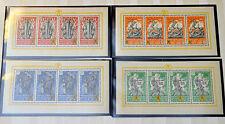 1943 Belgium/Flemish Legion Feldpost MNH/OG Complete Souvenir Sheet Set