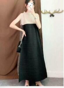 2021 new ISSEY MIYAKE PLEATS PLEASE Long Dress