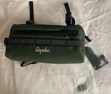 Rapha bike bar bag, olive green