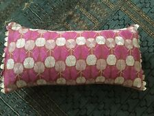 BEAUTIFUL NIKI JONES Pink Duck Filled Cushion 21inches X 11 Inches