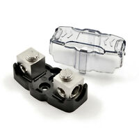The Wires Zone Mini ANL Fuse Holder 4 or 8 Gauge Nickel Plated, MANL FH-48
