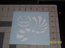"Cheshire Cat 5"" Vinyl Decal sticker laptop windows wall car boat"