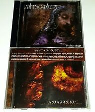 ANTAGONIST 2 SEALED CD Eschatology + An Envy of Innocence METAL Music lp 45 7""