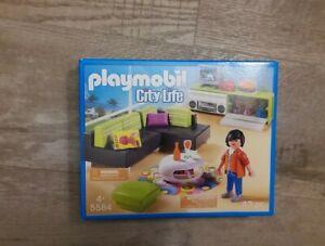 Playmobil 5584 City Life Wohnzimmer, passend zur Luxusvilla NEU&OVP