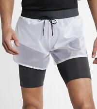 Mens Nike Tech Pack Active Sport Running Short White Size 2XL  AQ6442-100