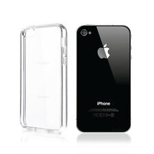 Funda Carcasa Transparente Air Gel TPU Para Apple iPhone 4 - 4s