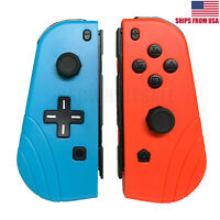 Joy-Con (L/R) Wireless Remote Controllers Pair For Nintendo Switch Neon Red Blue