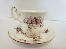 Royal Albert Lavender Rose Demitasse Tea Cup And Saucer