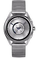 Emporio Armani Smart watch Touchscreen Stainless Steel Rubber Grey Men's Watch