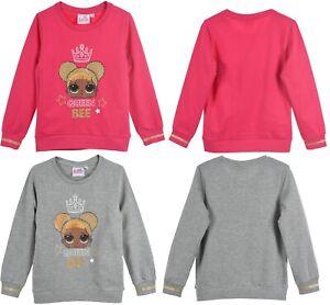 Official Girls LOL Surprise Character Kids Jumper L.O.L Sweatshirt 5-10 Yrs