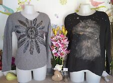 "Lot vêtements occasion femme... Pulls "" It Hippie - Zara "" ... T : S / 36 / 38"