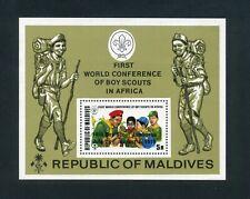 MALDIVES 1973 International Scouting Congress Miniature sheet SG MS446 MNH / UMM