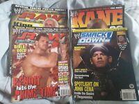WWE Smackdown Magazine 2003 2006 2004 John Cena Kane Ric Flair Chris Benoit