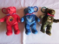 Clip-On Military Bears (Each sold seperately)