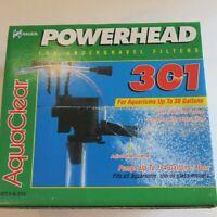AquaClear A-586 Powerhead Undergravel Aquarium Filter 301 174 Gallons per hr NEW