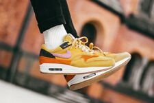 Nike Air Max 1 Bacon 'Crepe Sole' Wheat Gold Uk Size 8.5 CD7861-700