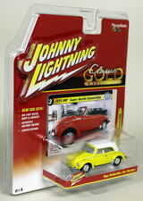 JOHNNY Lightning 1/64 SCALA 1975 VW Beetle Cabrio Giallo Modello Diecast Auto