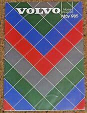 1985 VOLVO RANGE PRICE LIST - 240 260 740 760 340 360 GLT GLE Turbo GLS GL