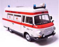 H0 BREKINA Barkas B 1000 Schnelle Medizinische Hilfe Rettungsamt Berlin # 30403
