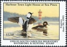SC12    1992  South Carolina   State Duck Stamp       DSS