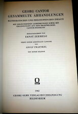 Georg Cantor, Mathematics, Philosophy. Set Theory, Transfinite Numbers. Zermelo