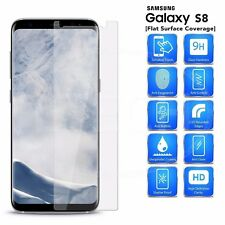 For Samsung Galaxy S8 Flat Screen 2 PCS Tempered Glass Screen Protector 9H