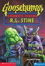 Return to Horrorland (Goosebumps Series 2000, No 13) by Stine, R.L.