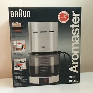 Braun Aromaster 10 Cup Coffeemaker New KF 440 NOS