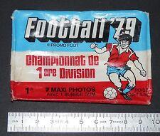 POCHETTE VIDE CHAMPIONNAT 1ère DIVISION AMERICANA FOOTBALL 79 1978-1979 PANINI