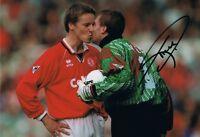 Signed Tim Flowers Blackburn Rovers Autograph Photo England Southampton