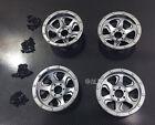 Aluminium Front + Rear Wheels Beadlock For Axial Yeti