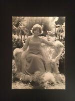 ANNELIESE ROTHENBERGER PRESSEFOTO aus 1970er Jahren ORIGINAL! 23,5x17,5cm