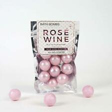10 Rose Wine Scented Bath Bombs