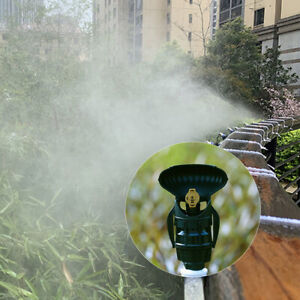 """1/2"""" Garden Agricultural Irrigation Sprayers Male 180° Rotating Nozzle Thread"""